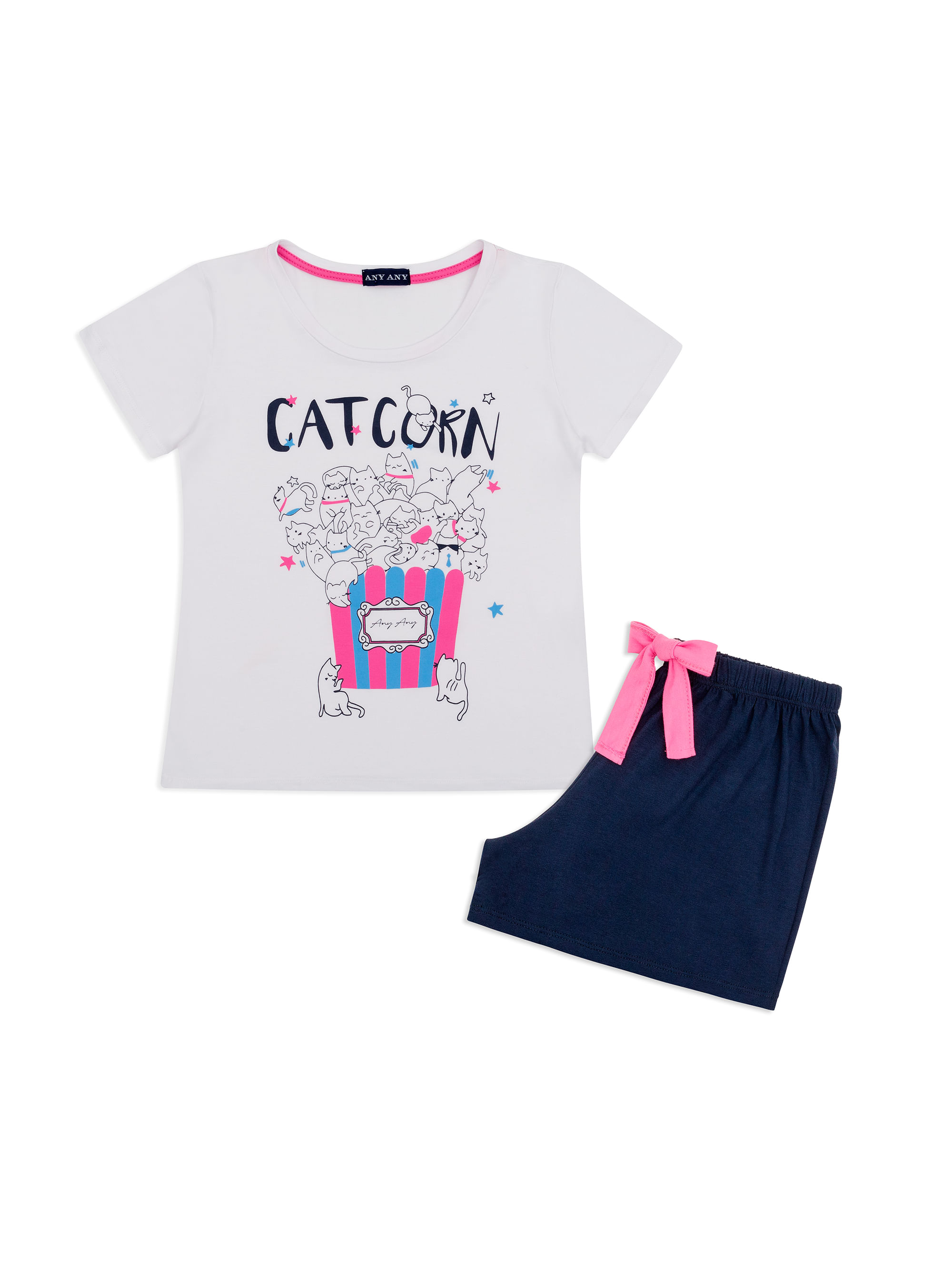 b7df7b078 anyany 2019 · Infantil · Menina. SD-MC-I-CAT-CORN-OUT-0603140505027. Short  Doll Infantil Manga Curta ...