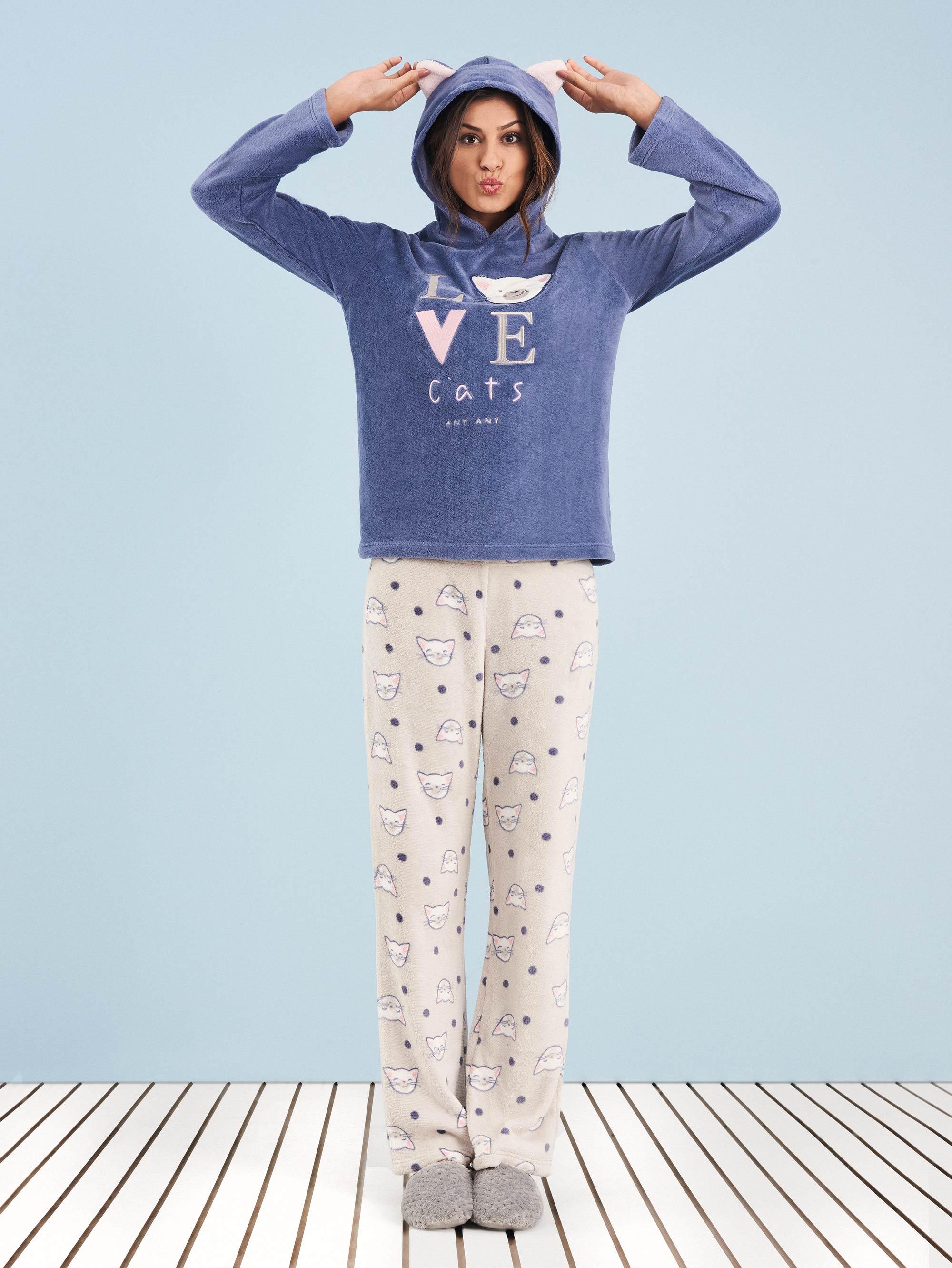 236bd1cf6d pijama-manga-longa-soft-love-cats-any-any