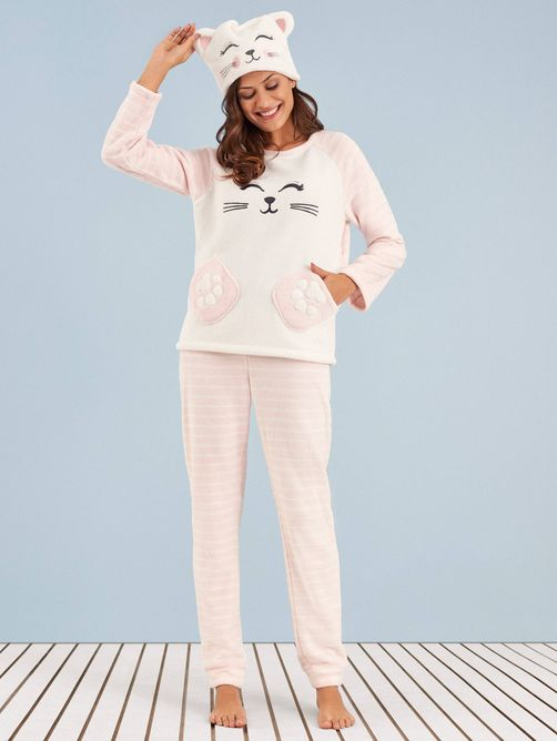 pijama-manga-longa-soft-kity-cat-any-any