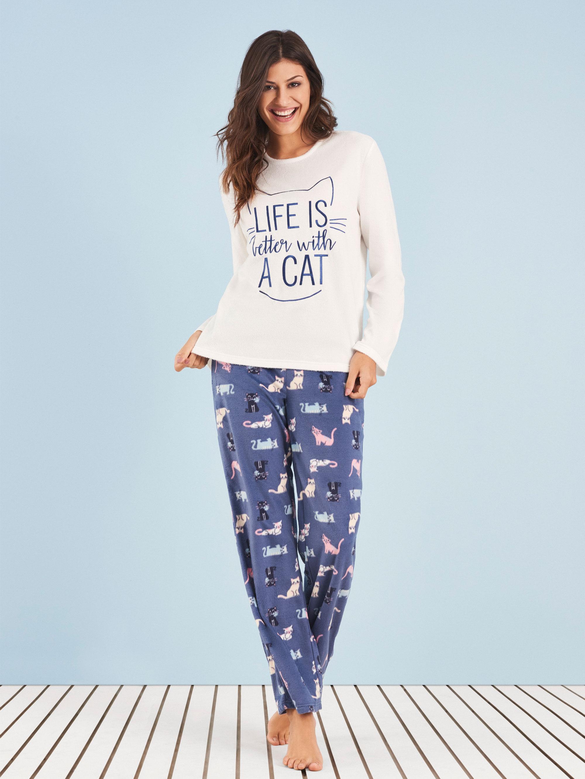 pijama-manga-longa-life-cat-any-any