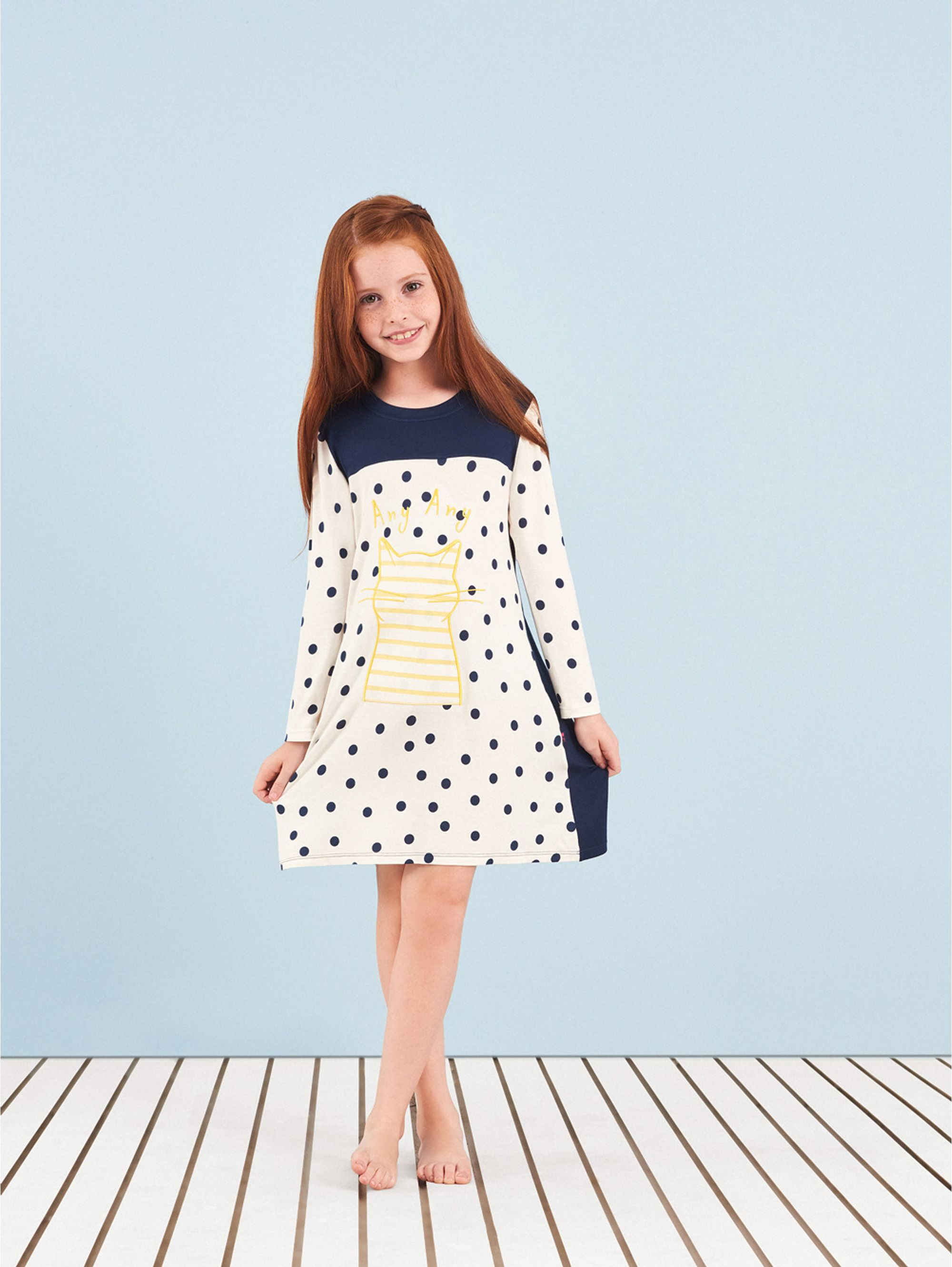 camisola-curta-manga-longa-infantil-yellow-cat-any-any