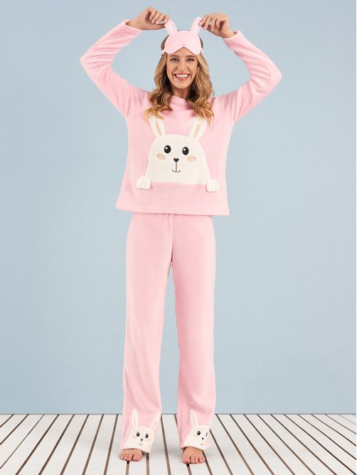 pijama-longo-manga-longa-soft-happy-bunny-any-any