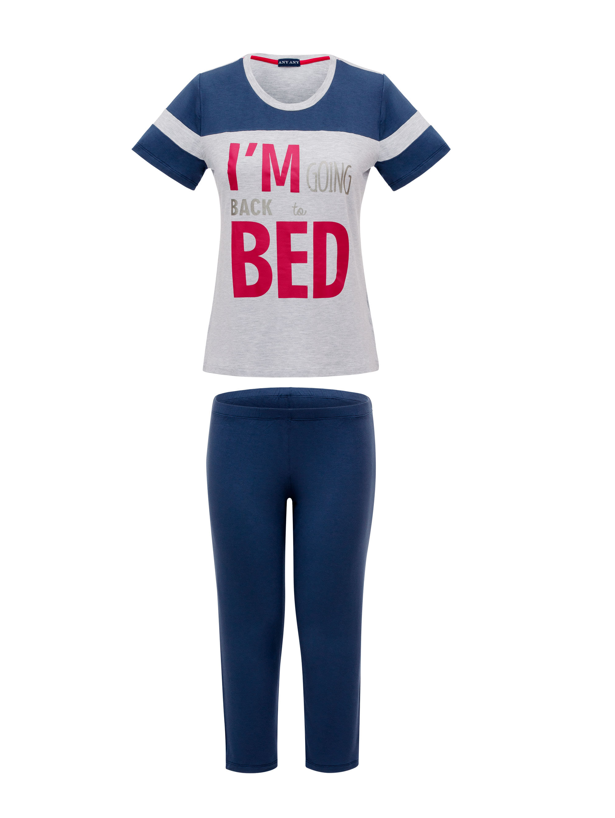 Pijama-Capri-Manga-Curta-Back-Bed-Any-Any