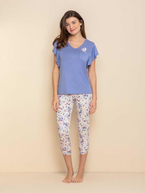 Pijama-Feminino-Capri-Manga-Curta-Blue-Garden-04.03.0596