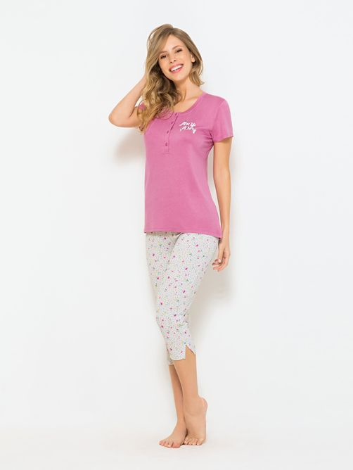 Pijama-Manga-Curta-Capri-Feminino-Petite-Floral-04.03.0609