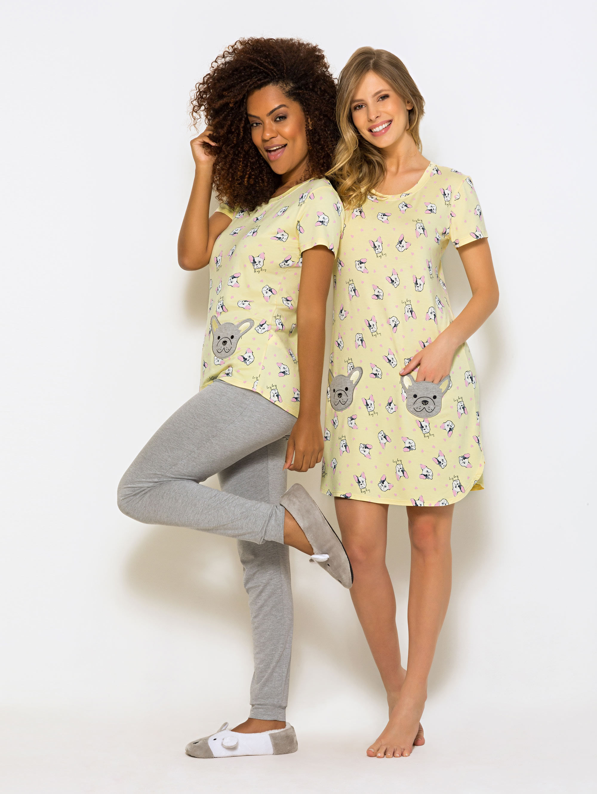 Pijama-e-Camisola-Manga-Curta-Yellow-Dog-01.03.1266