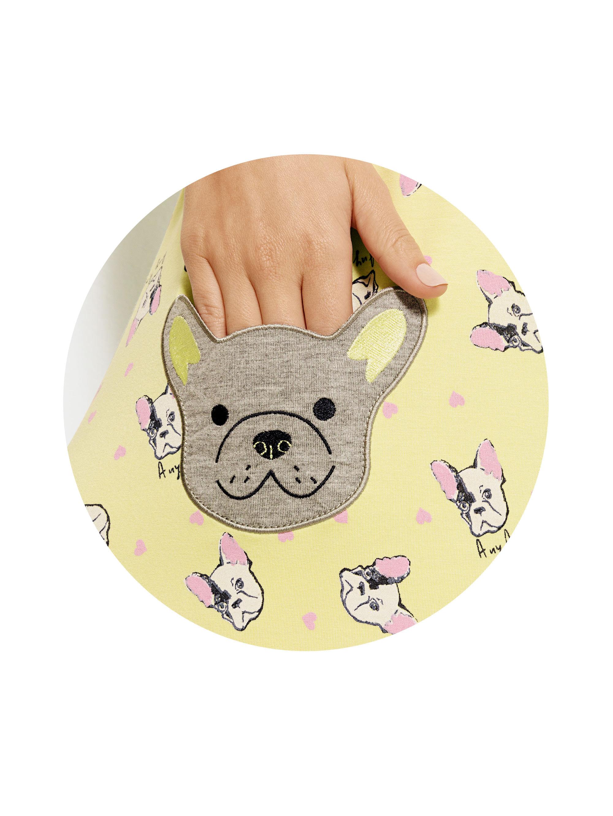 Camisola-e-Pijama-Manga-Curta-Yellow-Dog-01.03.1266-e-04.04.0508-Detalhes
