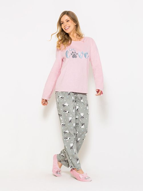 Pijama-Longo-Manga-Longa-Soft-Feminino-In-Love-Dog-04.01.1517