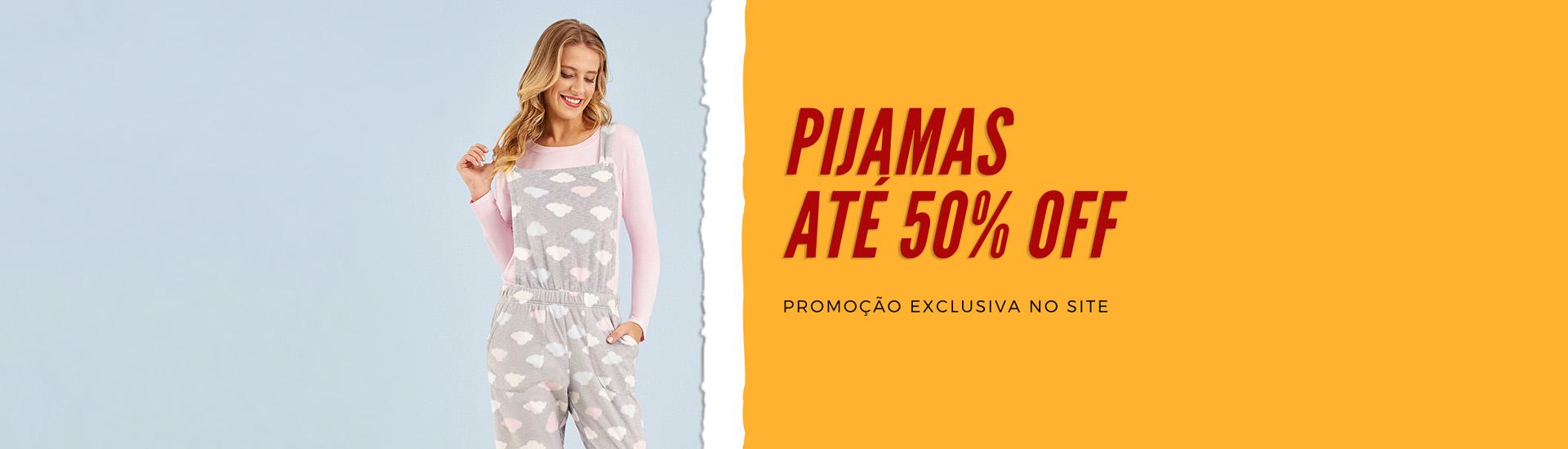 Pijamas até 50 OFF 2