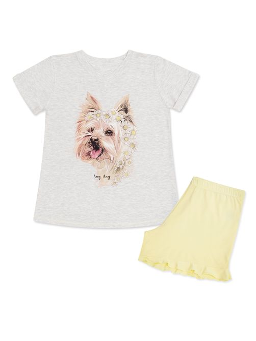 SHORT-DOLL-DOG-MARGARIDAS-INFANTIL---06-031683