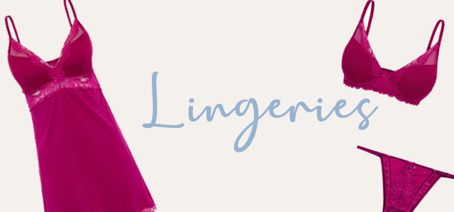 Mobile - Banner - Lingeries