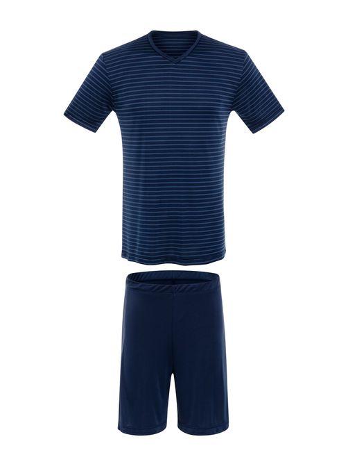 Pijama-Curta---Manga-Curta--M---HUELO-BLUE--04.02.0773