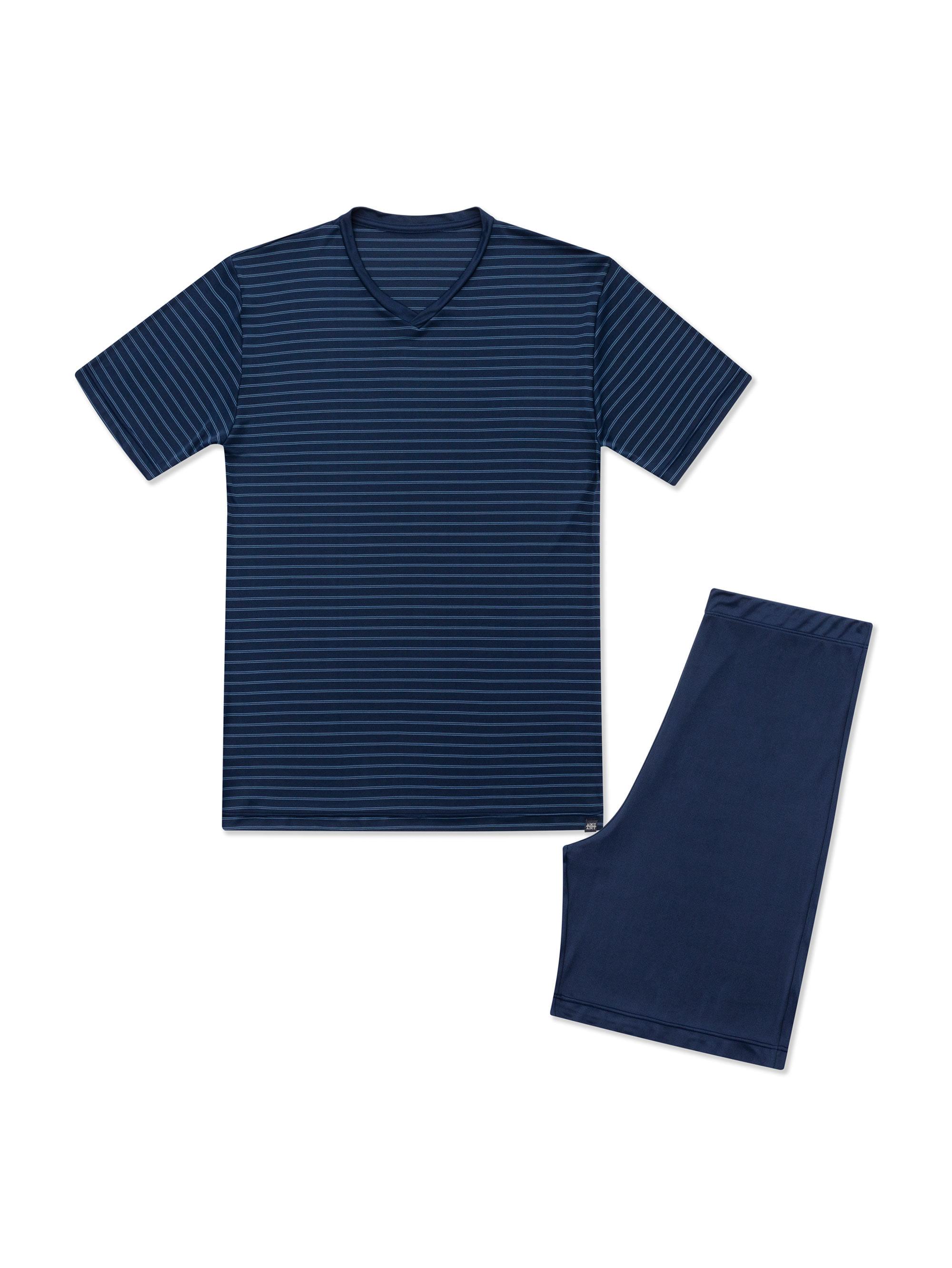 Pijama-Curta---Manga-Curta--M---HUELO-BLUE--04.02.0773---verso
